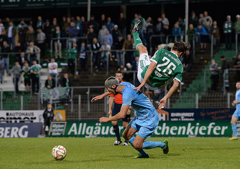 FC Homburg - Kickers Offenbach